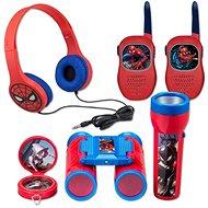 Interaktivní hračka Set Spiderman - vysílačky,sluchátka,baterka,kompas