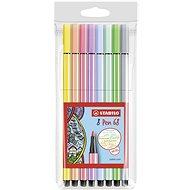 STABILO Pen 68 Pastel pouzdro 8 barev - Fixy