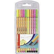 STABILO point 88/Pen 68 neon 10 ks pouzdro - Fixy