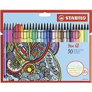STABILO Pen 68 kartonové pouzdro 30 barev
