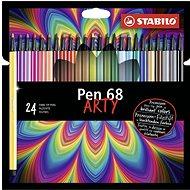 "STABILO Pen 68 24 ks kartonové pouzdro ""ARTY"" - Fixy"
