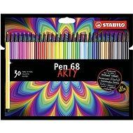 STABILO Pen 68kartonové pouzdro ARTY 30 barev