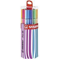 STABILO Pen 68 20 ks Twin Pack růžová/modrá, závěsné - Fixy