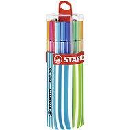 STABILO Pen 68 20 ks Twin Pack modrá/zelená, závěsné - Fixy