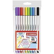 STABILO Pen 68 brush pouzdro 10 barev