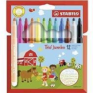 STABILO Trio Jumbo pouzdro 12 barev