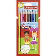 STABILO color kartonové pouzdro, 12 barev včetně neonových