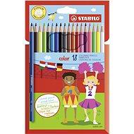 STABILO color kartonové pouzdro, 18 barev včetně neonových