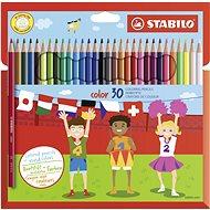 STABILO color kartonové pouzdro, 30 barev včetně neonových