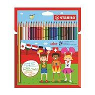 STABILO color kartonové pouzdro 24 barev