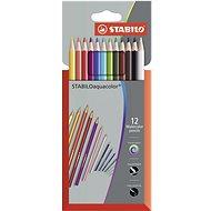 STABILOaquacolor kartonové pouzdro Premium 12 barev