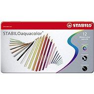 STABILOaquacolor kovové pouzdro 12 barev