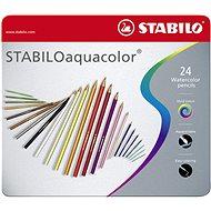 STABILOaquacolor kovové pouzdro 24 barev
