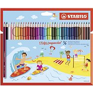 STABILOaquacolor 36 ks kartonové pouzdro - Pastelky