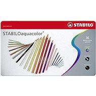 STABILOaquacolor kovové pouzdro 36 barev