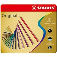 STABILO Original kovové pouzdro 24 barev