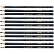 STABILO All barevná tužka černá 12 ks - Tužka