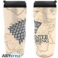 """ABYstyle - Games of Thrones - Cestovní hrnek """"Winter is coming"""" - Cestovní hrnek"""