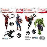 ABYstyle - Marvel  -Samolepky - 16x11cm/ 2 archy - Avengers