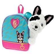 Bulldog with a backpack Cutekins - Plush Toy