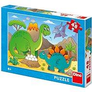 Dino Dinosauři 48 puzzle  - Puzzle