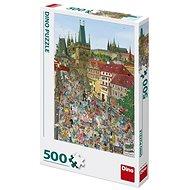 Dino mostecká věž 500 puzzle
