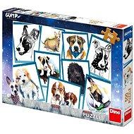 Dino pes gump 500 puzzle