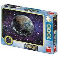 Dino planeta země 1000 neon puzzle