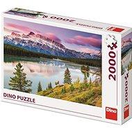 Dino skalnaté hory 2000 puzzle