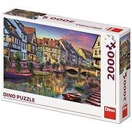 Dino romantický podvečer 2000 puzzle