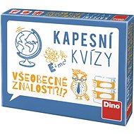 Dino kapesní kvízy - všeobecné znalosti - Vědomostní hra