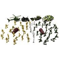 Figurky Teddies Sada vojáci s doplňky CZ design