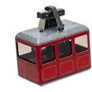 Kovap Lanovka červená na klíček - Kovový model