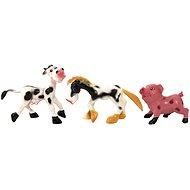 Teddies Animals Cheerful Domestic Farm 6 pcs