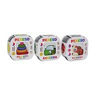 Pexeso 3ks Abeceda, Zvířátka, Pro děti společenská hra