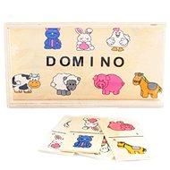Dřevěné domino zvířátka - Domino