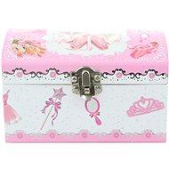Hrací skříňka šperkovnice s baletkou - Šperkovnice