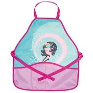 Stil Art education apron Cute girl