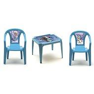 Dětský nábytek IPAE - DISNEY sada FROZEN 2 židličky + stoleček