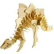 Dřevěné 3D puzzle - Stegosaurus - 3D puzzle