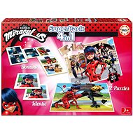 The set of games Magic Ladybug and Black Cat 4in1