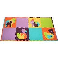 Pěnové puzzle Zvířata SX (60x60) s okraji - Pěnové puzzle