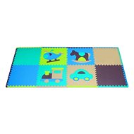 Pěnové puzzle Klučičí hračky SX (60x60) s okraji - Pěnové puzzle