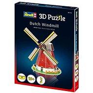 3D Puzzle Revell 00110 - Dutch Windmill - 3D puzzle