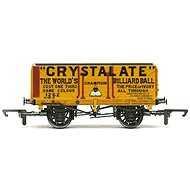 Vagón nákladní HORNBY R6810 - 7 Plank Wagon 'Crystalate'