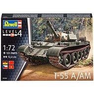 Plastic ModelKit tank 03304 - T-55A/AM - Model tanku