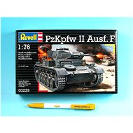 Plastic ModelKit tank 03229 - PzKpfw II Ausf.F - Model tanku