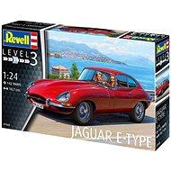 Plastic ModelKit auto 07668 - Jaguar E-Type (Coupé) - Model auta