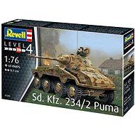 Plastic ModelKit military 03288 - Sd.Kfz. 234/2 Puma - Model tanku