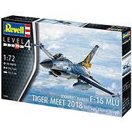 Plastic ModelKit letadlo 03860 - F-16 MLU TIGER MEET 2018 31 Sqn. Kleine Brogel  - Model letadla